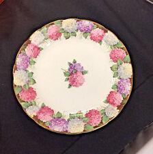 Vintage PARAGON Side Plate Fine White Bone China Floral HYDRANGEA England