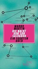 Martin, marko: la noche de san salvador. un libro de viajes, libro como nuevo