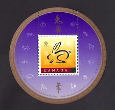 Canada    # 1768i SS   Year Of The Rabbit      Nice Original 1999  Pristine Gum