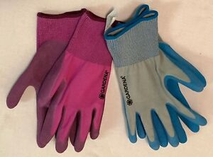 Women's Gardena Gardening Gloves ~ New ~ Two Pairs ~ One-Size-Fits-All