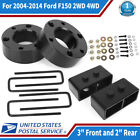 """3"""" Front and 2"""" Rear Leveling lift kit For 2004-2014 Ford F150 2WD 4WD US Stock"""