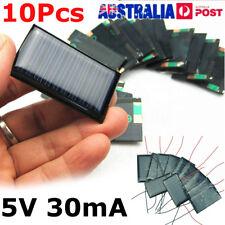 10Pcs/Lot 5V 30mA 53X30mm Micro Mini Small Power Solar Cells Panel For DIY Toy