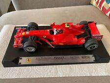 Hot Wheels Minichamps 1:18 Scale Ferrari Formula 1 Kimi Raikkonen Ltd Edittion