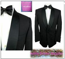 "Moss Bros Mens Black Tuxedo Dinner suit Ch38""S W36"" L29"" Prom Ball Cruise"