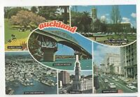 Auckland New Zealand Multiview Postcard 021c