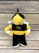 Applause Georgia Teach University Yellow Jacket Bee Stuffed Plush Mascot 7.5""