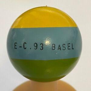 Minigolfball mg E-C. 93 Basel GL - unmarkiert - ungespielt - wie neu