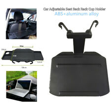 Foldable Car Seat Back Rack Cup Holder Bracket Dining Table Retractable Tray Kit