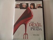 *** DEVIL WEARS PRADA ~DVD ~ Starring Meryl Streep & Anne Hathaway****