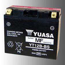 YUASA YT12B-BS Motorradbatterie 12V 10Ah AGM VRLA wartungsfrei