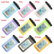 Waterproof Air Bag Fits Pouch Dry Case Cover For Cell Phone Apple Andriod Float