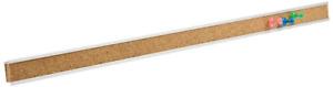 "Quartet Bulletin Bar Strip, Cork Board, 48"" x 1"", Classroom, Office, Cubicle,"