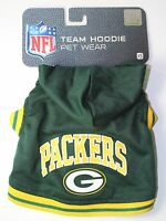 "Green Bay Packers Extra Small XS 6""-9"" Pet Dog NFL HOODIE NEW"