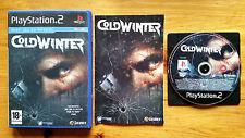 Cold Winter PS2 / Fr / complet / tbé / envoi gratuit