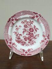 "Antique J F Wileman DELHI Red Transfer 5 5/8"" Plate c.1869"