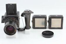 **Exc+++++** Hasselblad 500C/M Film Camera Black w/ Distagon CF 50mm f/4