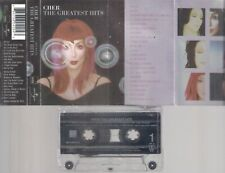 CHER   Greatest Hits       RARE   CASSETTE  COLLECTORS