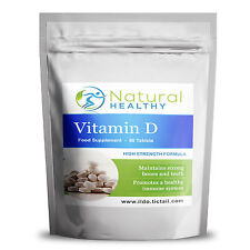 Vitamina D3 compresse per le ossa forti, denti del sistema immunitario in tutta la buona salute