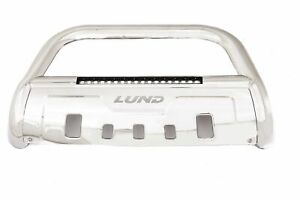 """Lund Steel Bull Bar with Integrated 20"""" LED Light Bar for 17-19 F2/3/4/550 Super"""