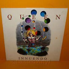 """1991 PARLOPHONE EMI RECORDS QUEEN - INNUENDO 12"""" LP ALBUM VINYL RECORD RARE"""