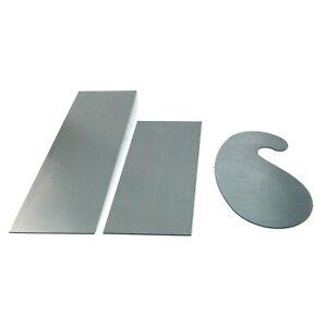 Schreiner Ziehklingen Set 3-teilig gehärteter Stahl 150x65 / 200x65 / 120x70 mm