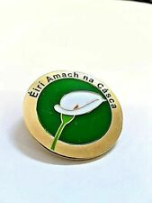 Easter Lily Éirí Amach na Cásca 1916 Enamel Pin Badge - Irish Republican Rising