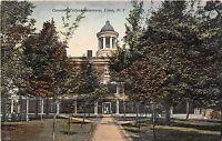 B21/ Lima New York NY Postcard 1924 Gennesee Weslyan Seminary Building