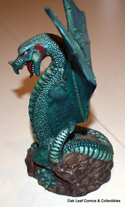 "8"" Doc Holliday Molds Vintage DHM Green Dragon 1999 Ceramic"