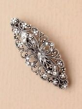 Unbranded Crystal Hair Barrettes for Women