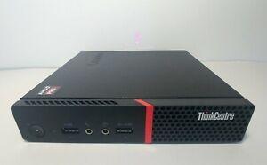 Lenovo ThinkCentre M715q AMD A10-8770E Tiny PC Core Gen 6 7 NO CPU NO HDD NO RAM