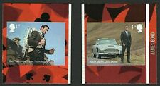 GB 2020 JAMES BOND RETAIL BOOKLET SELF ADHESIVES STAMPS