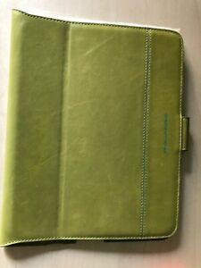 Custodia IPad 2 Piquadro In Pelle Colore Verde