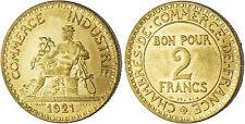2  FRANCS  CHAMBRE  DE  COMMERCE    1921  ,  SUPERBE  /  FDC