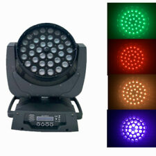 stage light rgbw 4 in 1 wash zoom 36x10W led moving head disco light party show