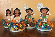 Moana Party Favors Candy Containers Set Of 8 (EMPTY)