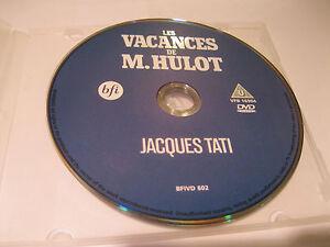 LES VACANCES de M.HULOT - Jacques Tati (ENGLISH SUBTITLES)  {DVD}