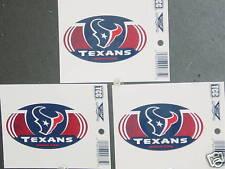 NFL Window Clings (3), Houston Texans, NEW