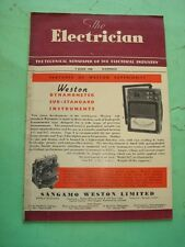 REVISTA - MAGAZINE THE ELECTRICIAN. 9 JUNIO 1950