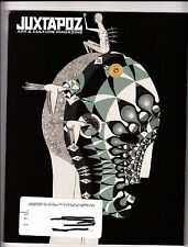 Juxtapoz Magazine June 2009 #102 Special Brazil Issue Herbert Baglione Calma