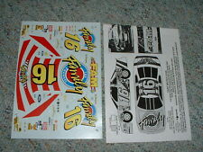 Slixx decals for #16 Family Channel Ted Musgrove Lot 1  BB