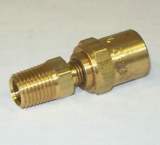 """Anderson Copper 1/4"""" x 1/2"""" x 1/4"""" Npt Hose End Fitting 07217-040804 Lot Of 14"""