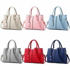 Women Leather Handbag Ladies Tote Shoulder Purse Satchel Messenger Crossbody Bag