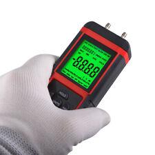 Digital Manometer Differential Air Pressure Meter LCD Gauge High KPA Gas Vacuum