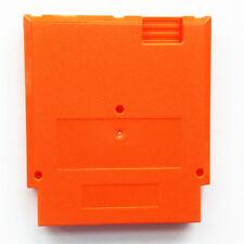 Orange Case Cartridge Shell Cover For Nintendo Entertainment System NES