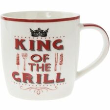 Lesser & Pavey Word Play Porcelain Mug - King of the Grill