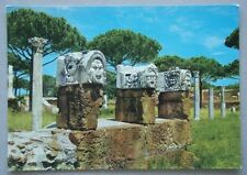 Ostia Maschere del Teatro Postcard (P228)