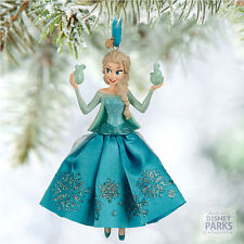Authentic Disney Parks Collectibles Frozen Elsa Sketchbook Christmas Ornament