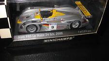 MINICHAMPS 1.43 AUDI R8S 2nd PLACE Le Mans 2000 TEAM JOEST AIELLO McNISH ORTELLI