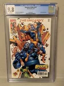 Marvle The Uncanny X-Men #377 CGC 9.8 NM/M Apocalypse the Twelve
