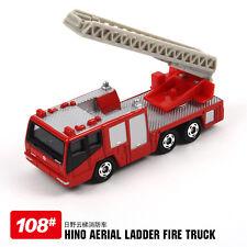 NEW TAKARA TOMY TOMICA #108 HINO MORITA FIRE ENGINE  DIECAST TRUCK 636595